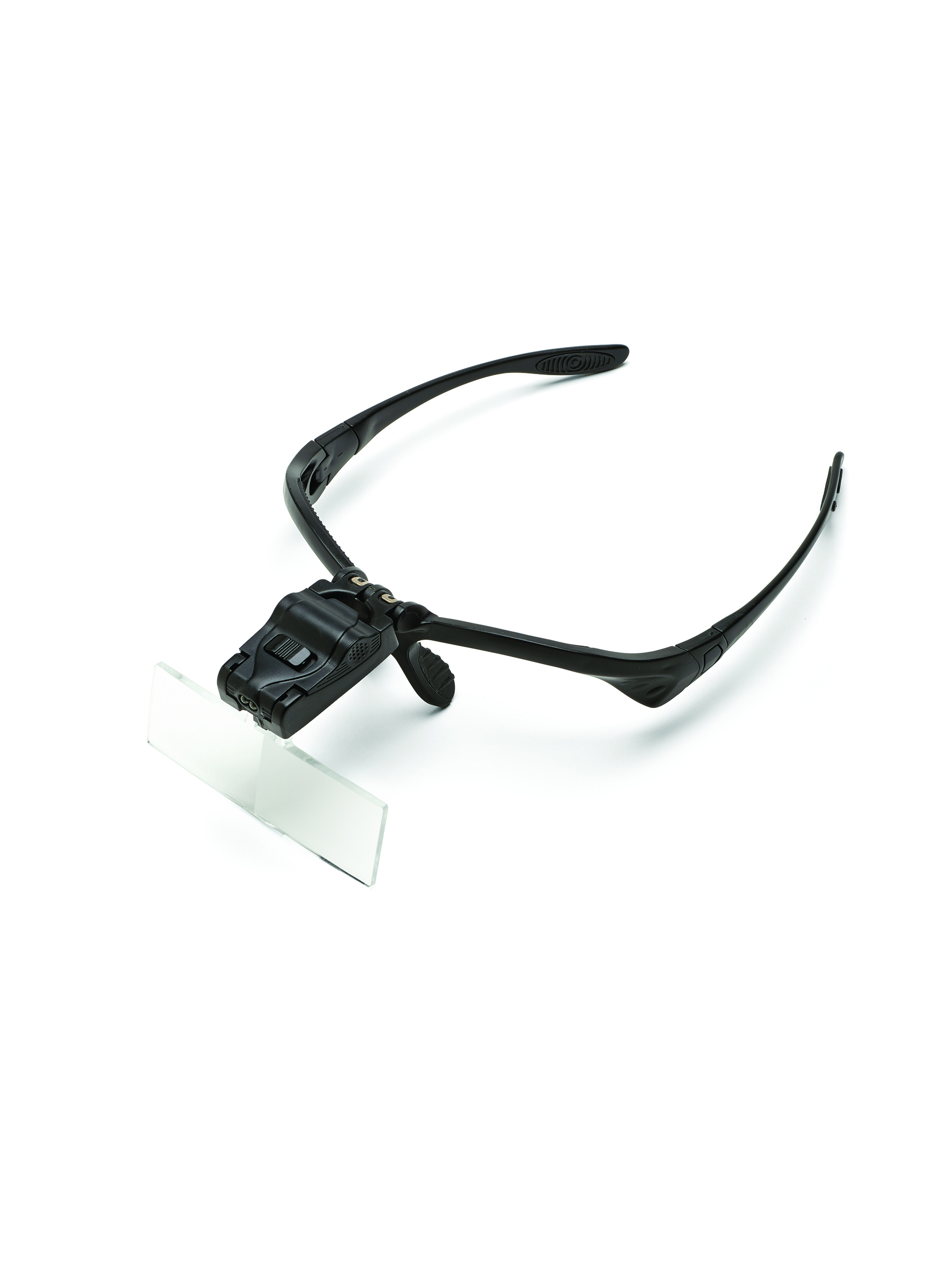 Interchangeable Magnifier Headset with LED