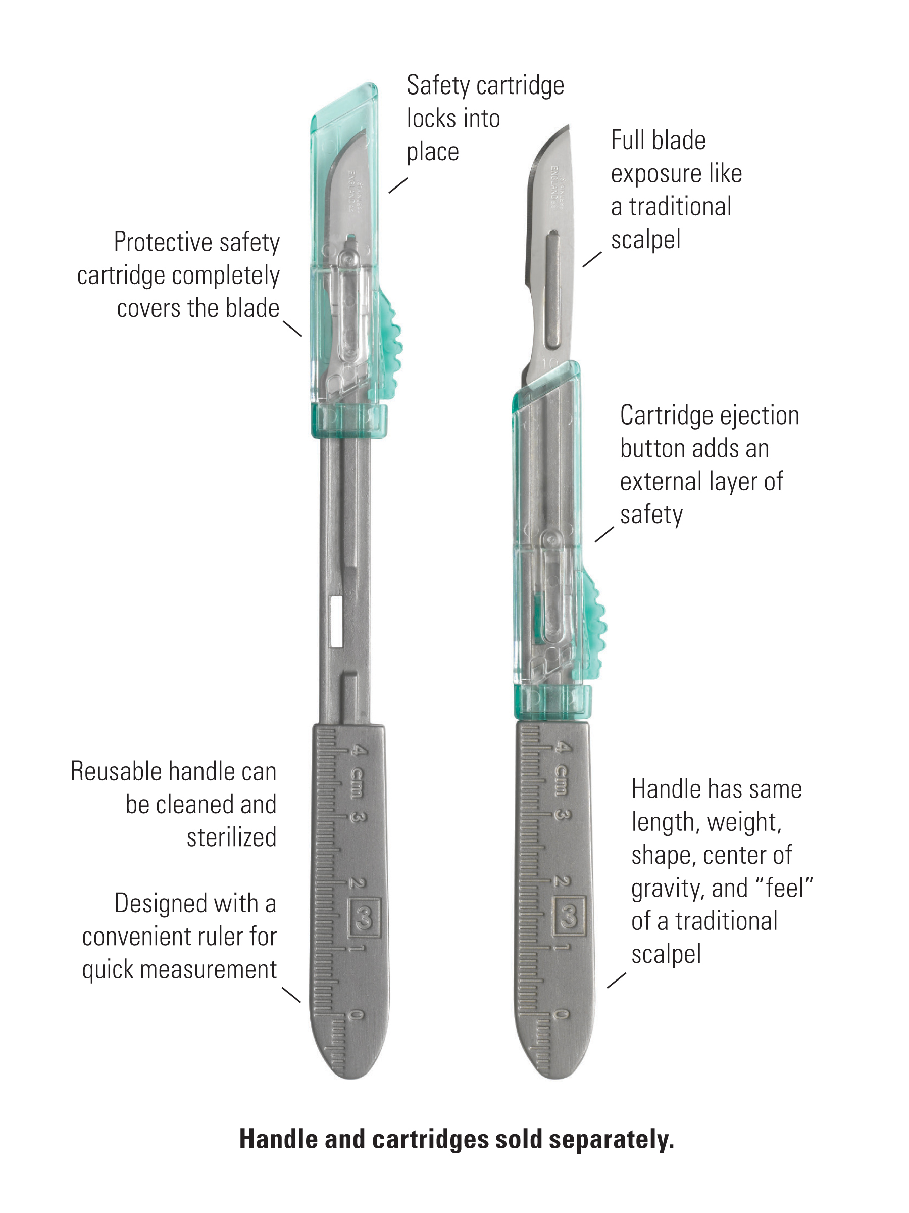 Safety Scalpel Handle #3